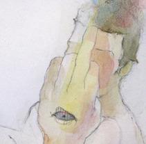 Serie fuck u. Un proyecto de Ilustración de carmen esperón - 11-10-2013