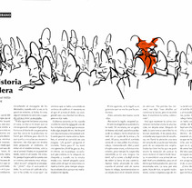 A true history . Editorial illustration. A Design, Illustration, and Advertising project by Patricia Ramírez Lucena         - 12.10.2013