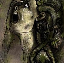 Medusa. Um projeto de Ilustração de Alba Cervelló Ortigosa         - 14.10.2013
