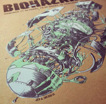 Biohazard Poster. A Design&Illustration project by Ink Bad Company - Oct 17 2013 12:00 AM