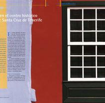 Maquetación en diversas revistas. A Design, and Advertising project by Beatriz Santos Sánchez         - 21.10.2013