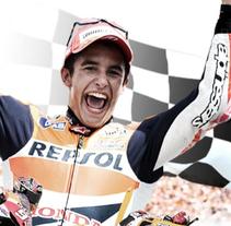 Infografia Marc Márquez Campeón del mundo 2013. Un proyecto de Diseño de Yon González de Amezúa         - 11.11.2013