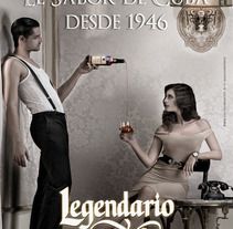 Campaña Ron Legendario 2008-2010. A Design, and Advertising project by Mr.Baylo  - 14-11-2013