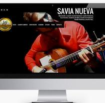 Diseño Web Empresa Savia Nueva. A Design, and Software Development project by Fernando Diez Colinas  - 14-11-2013