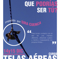 Telas Aéreas Sira Cuenca. A Design, Illustration, and Advertising project by Emilio Rubio Arregui         - 24.11.2013