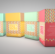 Packaging Hot&Cold Cafe. Un proyecto de Diseño, Ilustración, Instalaciones y 3D de Lucia Perales         - 24.11.2013