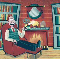 Wallace & Gromit. A Design&Illustration project by Andrés Lozano         - 24.11.2013