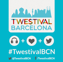 Twestival Barcelona. A Design, Illustration, and Advertising project by Nora Ferreirós - 23-10-2013