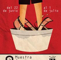 9 Muestra de Cine de Lavapiés. A Design&Illustration project by Iago Berro - Nov 27 2013 12:00 AM