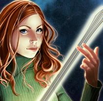 Anne. Astralis 2. Un proyecto de Diseño e Ilustración de Ana del Valle Seoane         - 20.03.2013