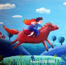 Ilustraciones. Un proyecto de Ilustración de Anne Derenne         - 26.11.2013