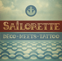 Sailorette - Free Font. A Design, Graphic Design, T, and pograph project by mimetica - 27-11-2013