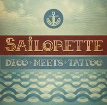 Sailorette - Free Font. A Design, Graphic Design, T, and pograph project by mimetica - Nov 28 2013 12:00 AM