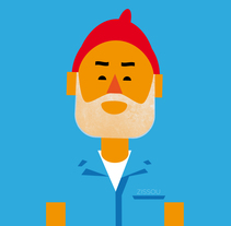 Zissou. A Illustration project by Marco Recuero - 12.01.2013