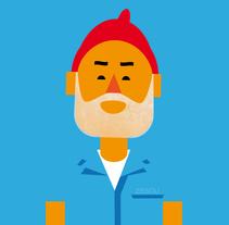 Zissou. Un proyecto de Ilustración de Marco Recuero - 01.12.2013