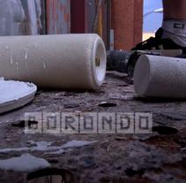 Borondo, Mercado de la Cebada_Madrid_2013. Un proyecto de Cine, vídeo y televisión de Or Imagina         - 01.12.2013