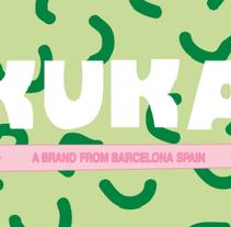 KUKA  a brand from Barcelona.. Um projeto de Design e Ilustração de Susana López         - 03.12.2013
