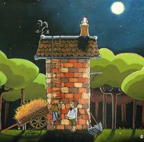 Amigos. Um projeto de Ilustração de Iván Torres         - 03.12.2013