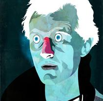 Ilustraciones inspiradas en el cine . Um projeto de Ilustração de Alvaro  Tapia Hidalgo - 01-01-2014