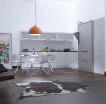 Infoarquitectura de interior. Un proyecto de Diseño, Publicidad, Instalaciones y 3D de Óscar García Vélez - 12-12-2013