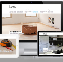 Website: Simo Interiores. A Design, and Software Development project by Gilber Jr         - 14.12.2013