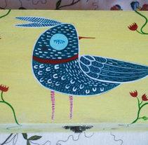 Handmade Birdbox . Um projeto de Ilustração de Marta Casares - 16-12-2013