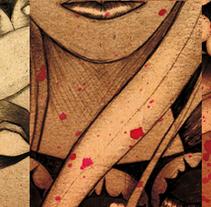 Sarah Bernhardt. Un proyecto de Ilustración de Ardiel García Sacramento         - 18.12.2013