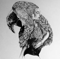 Ilustraciones en proceso 2013. Um projeto de Design e Ilustração de Iván Camargo Lazcano - 23-12-2013