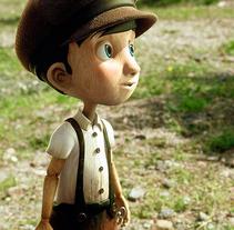 Pinocchio /  tv movie /. Un proyecto de 3D, Animación y Diseño de personajes de Àlex  Monge - Jueves, 02 de enero de 2014 00:00:00 +0100