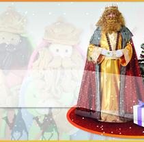 Postales y/o Tarjetas de Navidad. Um projeto de Design e Ilustração de Eloy Pardo Rouco         - 04.01.2014