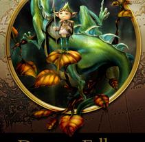 Dragon Fellow - El Jardín de las Hojas Corazón. Un proyecto de Ilustración de Pablo Cazorla - 22-01-2014