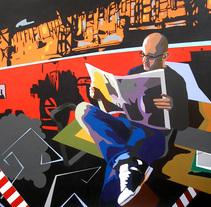 """""""UN DÍA CUALQUIERA"""". A Illustration project by Toni Cordero Bermúdez         - 25.01.2014"""