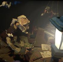 """Concept Art_2: Animation Characters/Backgrounds/Props...""""Defectuosos"""" animation shortfilm & """"Mr. Illich"""" videoclip. Un proyecto de Cine, vídeo, televisión, Animación y Dirección de arte de Jon Ferlop - 18-01-2014"""