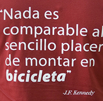 BICI TOTAL. A Art Direction, Graphic Design&Illustration project by Antón Veríssimo - Jan 28 2014 12:00 AM