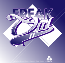 Freak Out. Logo design. A Graphic Design project by Naone  - 19-01-2014
