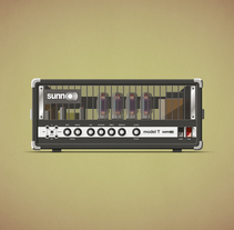 Legendary Amps. A Illustration project by David Caramés - 01.31.2014