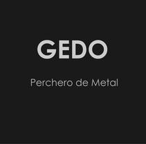 Gedo. Perchero de Metal.. Un proyecto de Diseño de producto de Alexia Alvarez - 12-01-2014