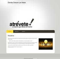 Web Donde Crecen Las Ideas. Um projeto de Web design de Jose Luis Torres Arevalo         - 06.02.2014