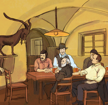 Storyboard | Cerveza Kozel. Um projeto de Ilustração, Publicidade e Cinema, Vídeo e TV de Juraj Borko         - 07.02.2014