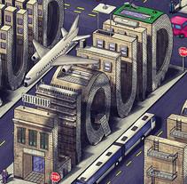 liquid skateboards. Un proyecto de Ilustración de jaume osman granda - Miércoles, 26 de febrero de 2014 00:00:00 +0100