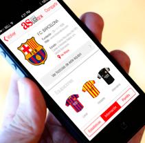 AS.com - Guía de la Liga 13/14. Un proyecto de Desarrollo de software y UI / UX de Fourandgo Mobile  - 25-02-2014