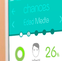 Chances - Ganador de Innova Challenge BBVA 2014. Un proyecto de UI / UX de Fourandgo Mobile  - 25-02-2014