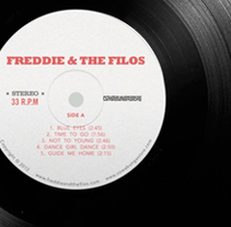 Freddie & The Filos. A Music, Audio, Graphic Design, and Packaging project by Pablo Caravaca - 27-02-2013