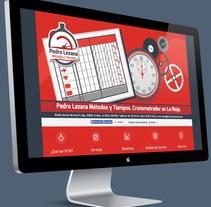 Identidad corporativa y presencia en la red para Pedro Lezana. Un proyecto de Diseño gráfico y Diseño Web de Nomadic Blink         - 28.02.2014