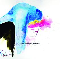 Autoretratos /Self-Portraits. Um projeto de Ilustração de Paula López         - 02.03.2014