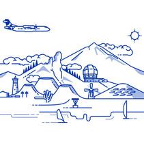 Canaryfly. Un proyecto de Ilustración de Nicolás Gallardo         - 04.03.2014