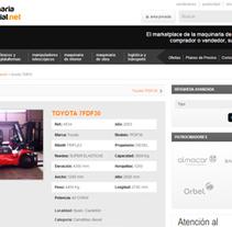 MaquinariaIndustrial.net. A Web Development project by Alex Peris         - 12.11.2012