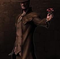 Jack Destripador. Un proyecto de 3D de Guillermo Morillas Gonzalez         - 08.03.2014