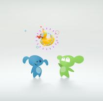 Antonia y Pepa // Guessing Game. Un proyecto de Motion Graphics, 3D, Animación, Dirección de arte, Br e ing e Identidad de Antonia y Pepa         - 05.03.2014
