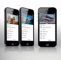 app Turismo. A UI / UX, Br, ing, Identit&Interactive Design project by Rocio Cano         - 10.03.2014
